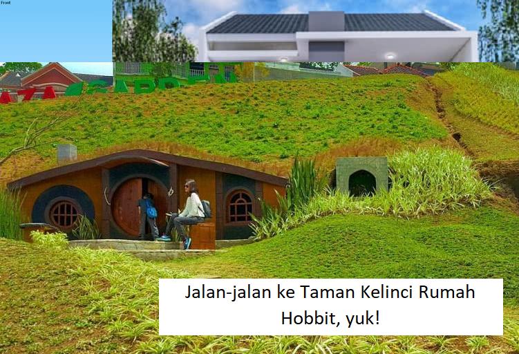Jalan-jalan ke Taman Kelinci Rumah Hobbit, yuk!