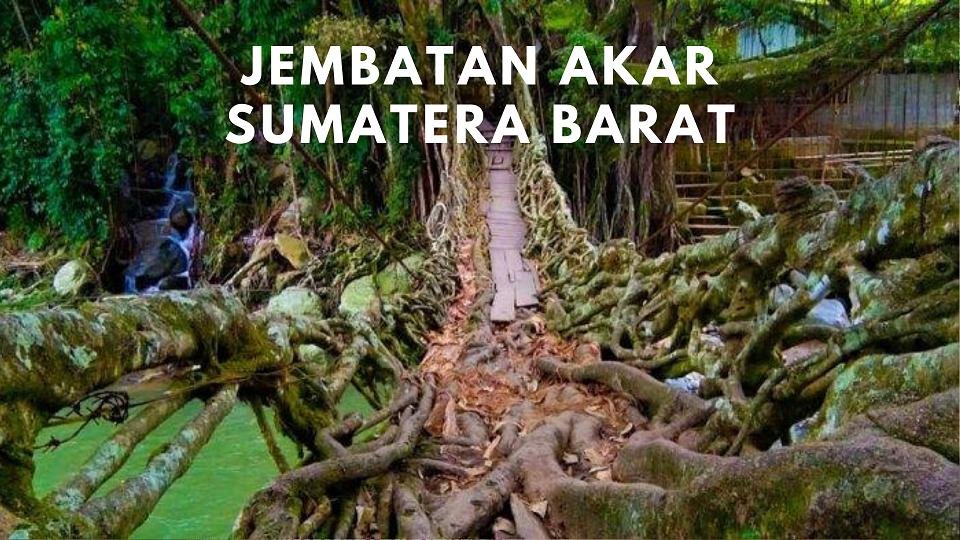 Jembatan Akar- Sumatera Barat