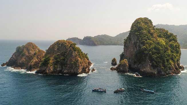 Pulau Wayang dan Pulau Pahawang