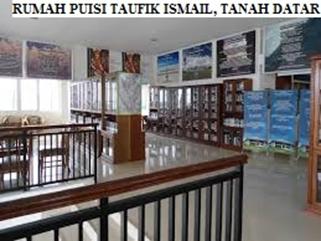 Rumah Puisi Taufik Ismail, Tanah Datar